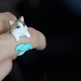 Mermaid Cat Ring