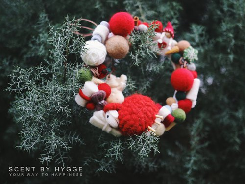 #HYGGE Christmas Paradise #Merry Christmas aroma wreath