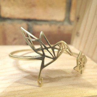 Humming Bird Geometric Bracelet