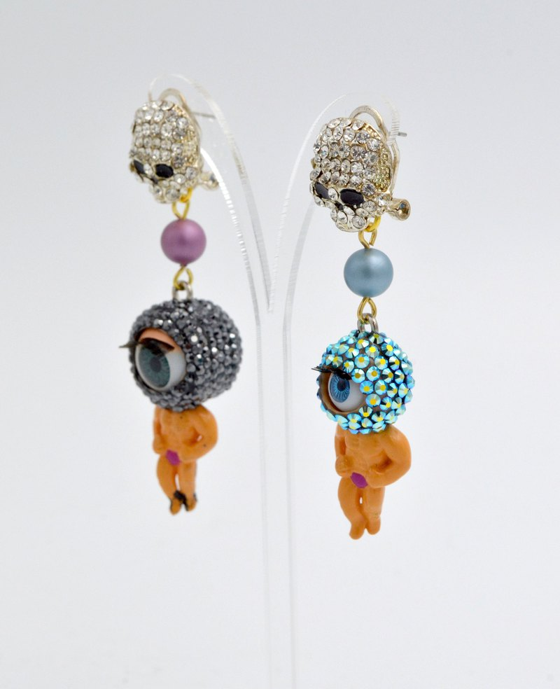 TIMBEE LO Crystal Earrings Swarovski elements Swarovski Crystals