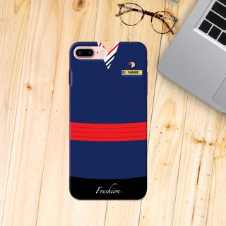 Custom Air Macau Airlines Air Steward Fight Attendant iPhone Samsung Case