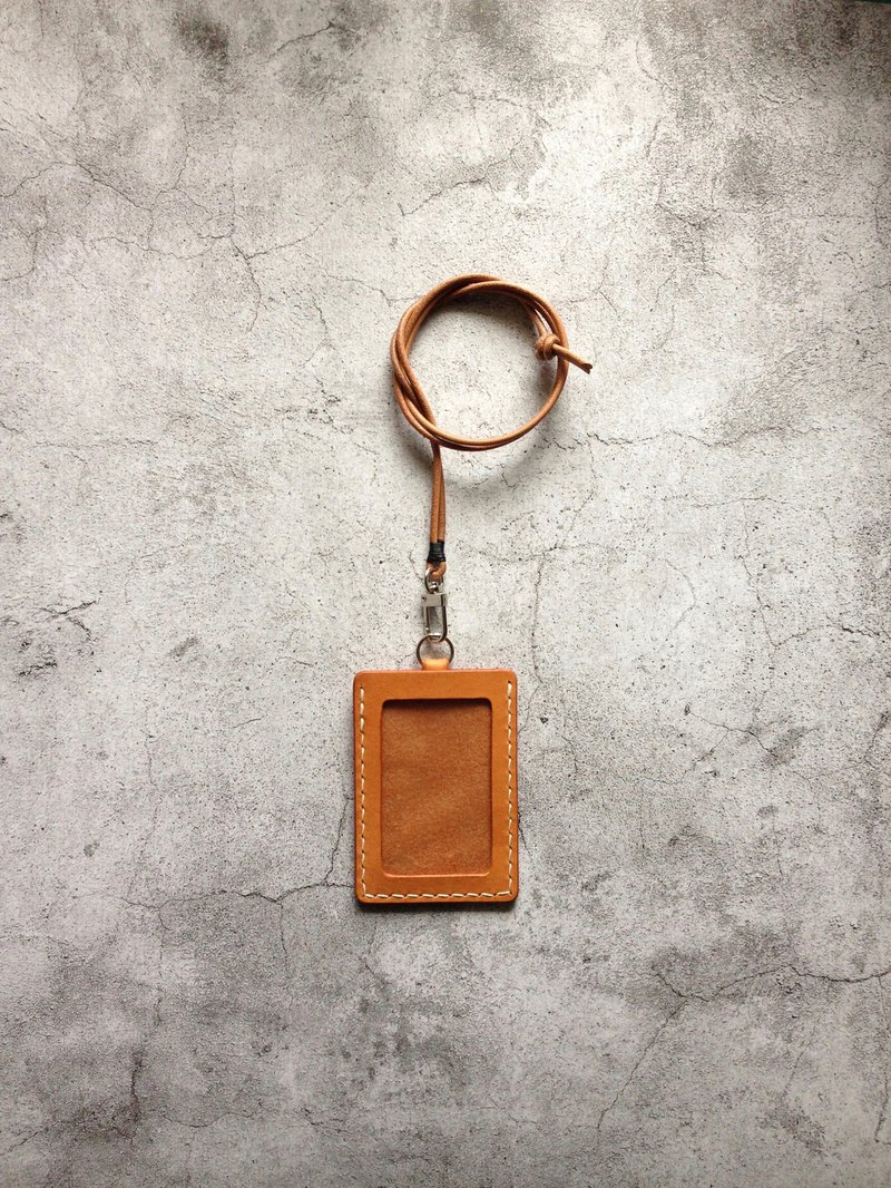 Tan ID Case