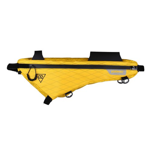 X Touring Bikepacking Frame Bag XPac Yellow S