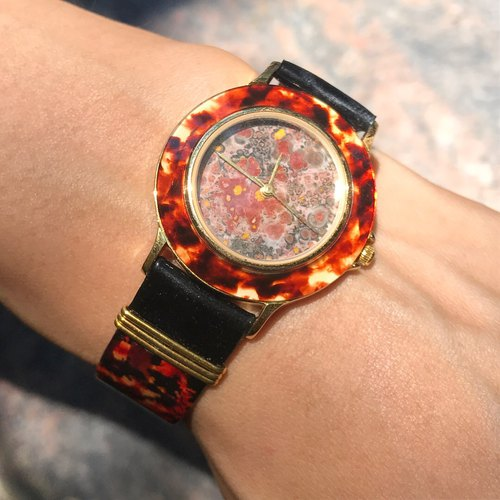 【Lost And Find】Natural  agate watch