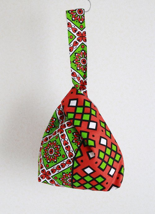 Knot Bag - African fabric