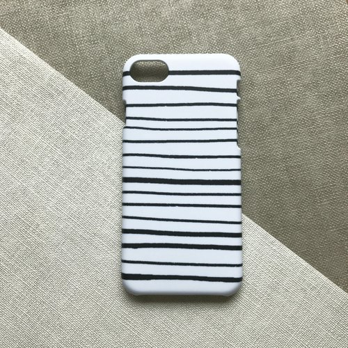 Modern stripe ink. Matte Case( iPhone, HTC, Samsung, Sony, LG, OPPO)