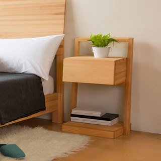 cabinet. Step leisure bedside table ─ 【love door】