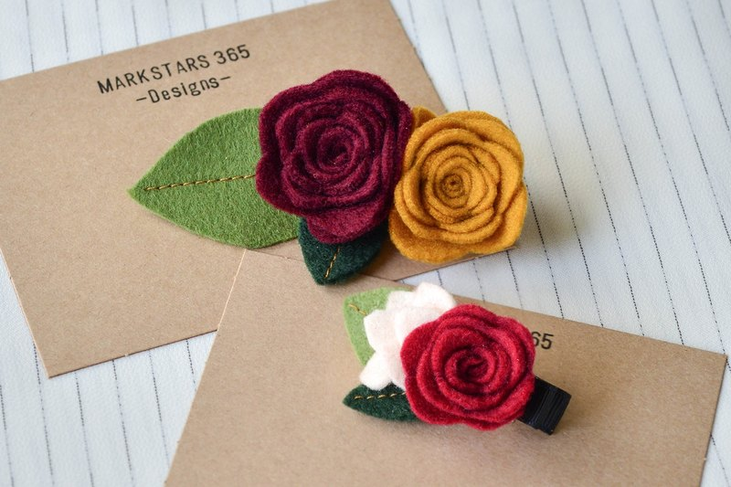 Parent-child rose hairpin group