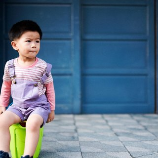 Body and mind comfortable Lavender suspenders hand-made non-toxic children's clothing parent-child equipment
