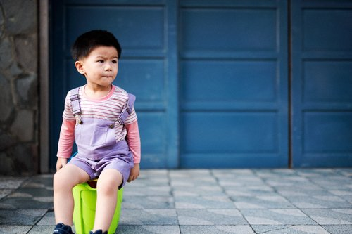 """Physically and mentally comfortable lavender suspenders"" hand-made non-toxic children's parents installed"