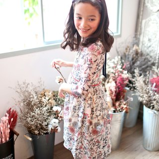 (Mother & Daughter matching dress) Floral Tunic Dress (infant/toddler/girl)