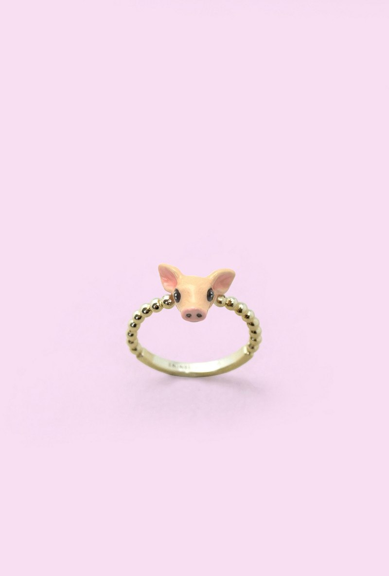 Pig Ring - Chinese zodiac animals. Sign - Zign Collection ,  Year of Pig , Pig