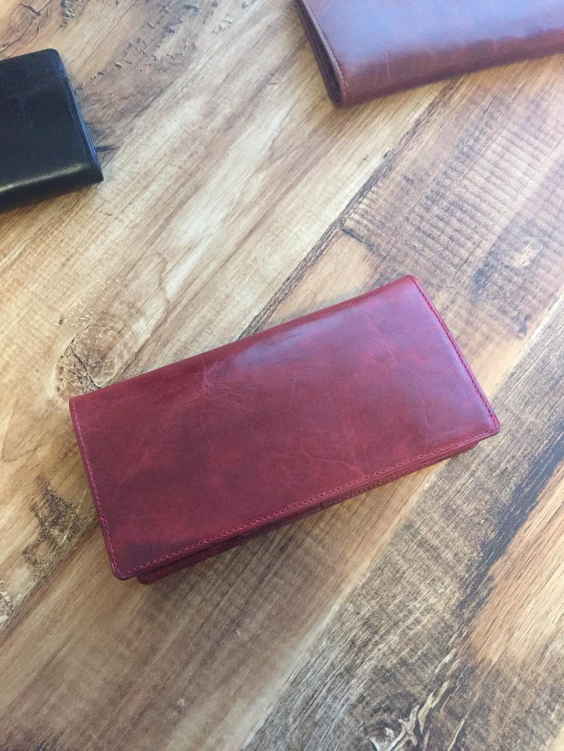 """BASIC"" Long wallet <RED>"