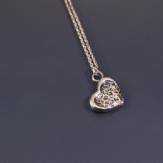 Big Love Little Love 925 Silver Necklace