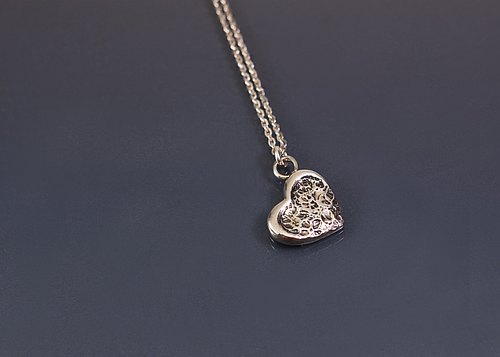 Big Love Little 925 Silver Necklace