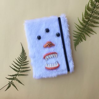 Monster 1.2 White Notebook