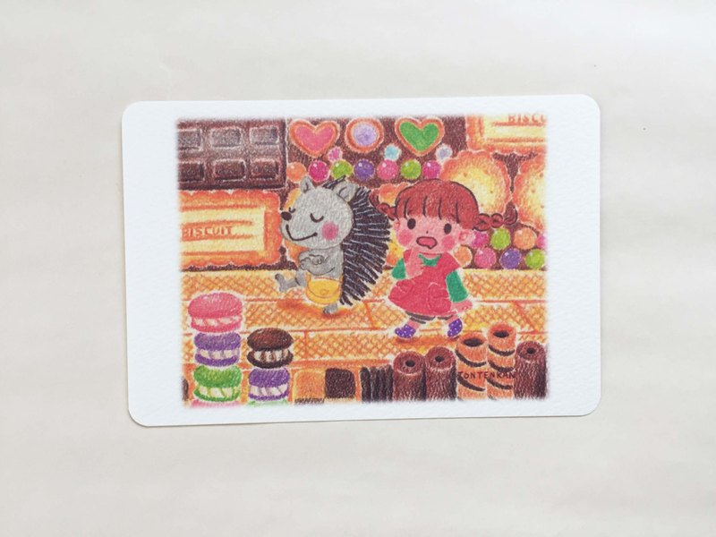 Snack castle explorer postcard no.079