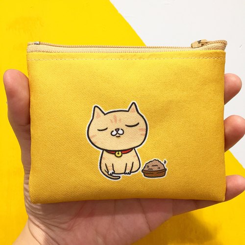 "Zero dry cat food taste ""Duplex"" wallet / Valentine's Day gift"