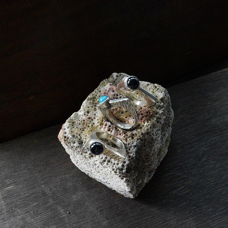 綠松石925純銀戒指