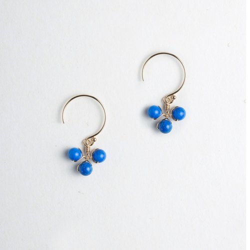 Knock knock. I was lucky (Good Luck) / Earrings