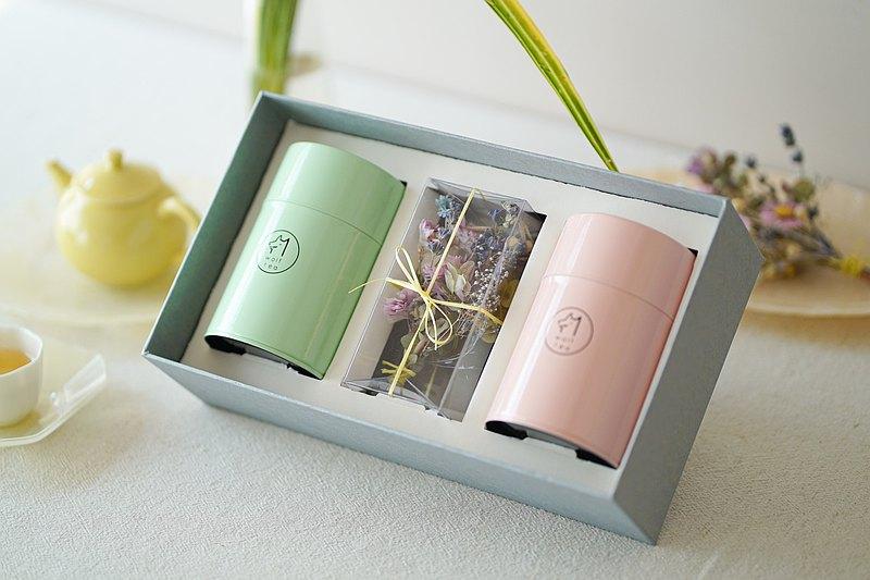 【母親節限定】BOUQUET 永生花束双罐茶禮盒
