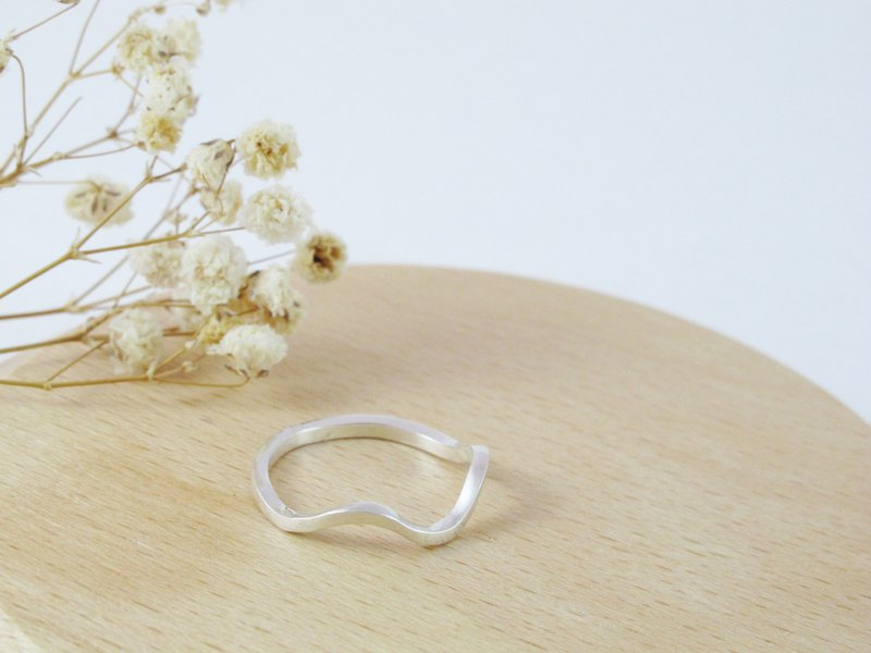 Model Series Water Elf Sterling Silver Ring - Inlove