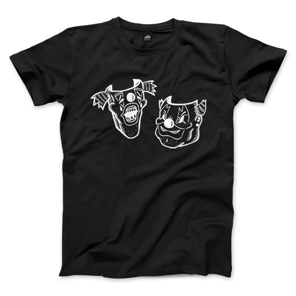 Fat thin ugly ugly brother brother - Black - Unisex T-Shirt