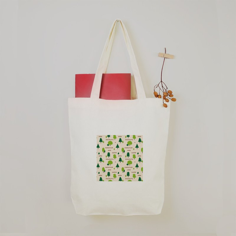 NOIZE love forest Tote bag