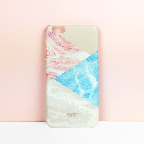 Fall New - warm marble stitching (iPhone.Samsung Samsung, HTC, Sony. Asus mobile phone case)