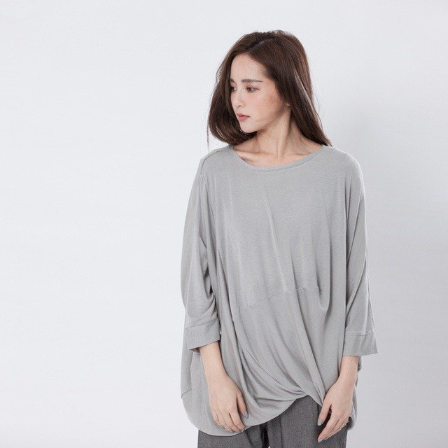 Double layer Top / Gray