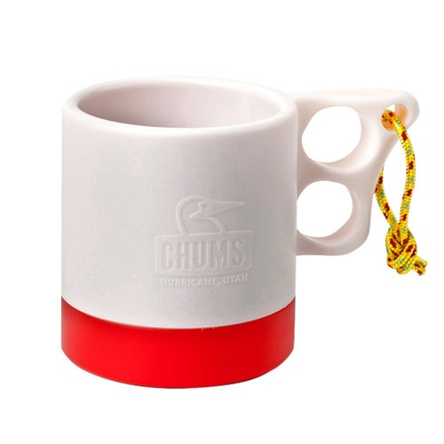 CHUMS 250ml mug cold insulation primary / red