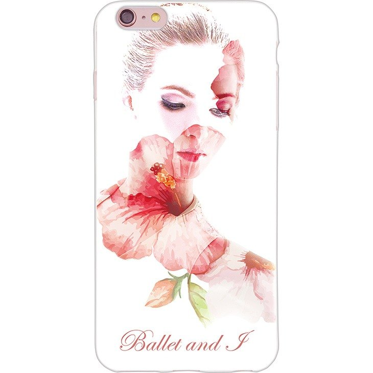 "New Year series [-199] Ballet and I miss -TPU phone case ""iPhone / Samsung / HTC / LG / Sony / millet"""
