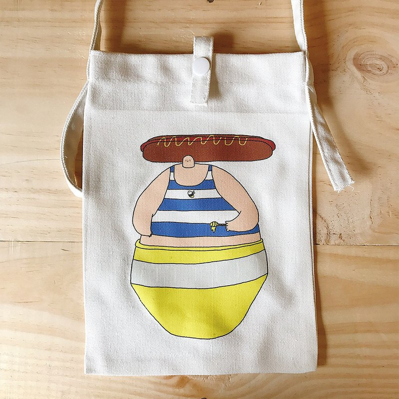 I am your honey! / diagonal bag