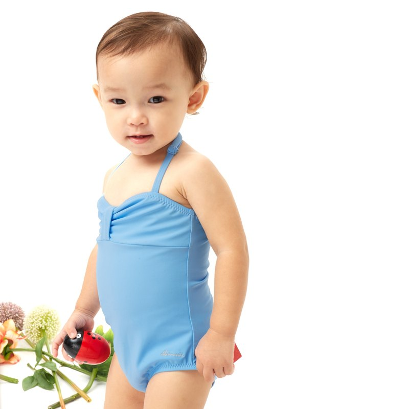 ABIGAIL - Bandeau swimwear for girls