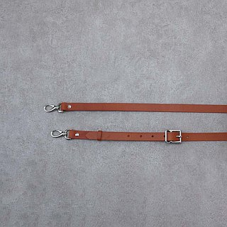 Be Two ∣ wide vegetable tanned leather strap / adjustable length / leather universal strap