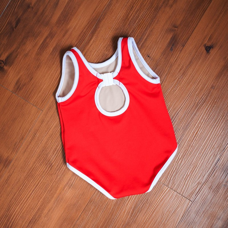 Aprilpoolday Swimwear / KID.VOLLEYBALL / Red / M