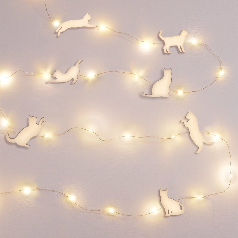 Jumping cat star sky hanging lamp (special order of Mr. Zhang)