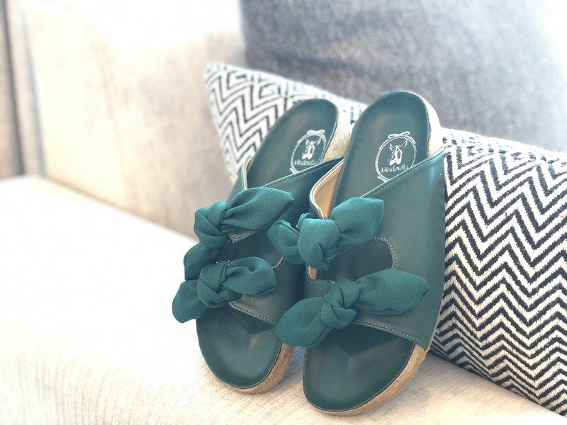 JOLIE SANDAL橡膠地板拖鞋可以更換功能區