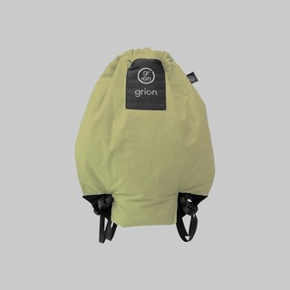 grion waterproof bag - back section (S) beige
