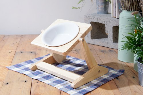 [Chouchou Life Research] all-round - natural diet bowl rack - medium-sized dogs dedicated