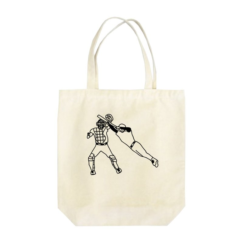 Base ball Tote Bag