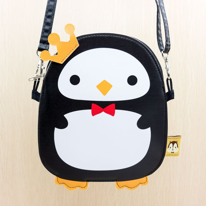 Cute penguin Kily PU Leather Shoulder Bag - G010SQB