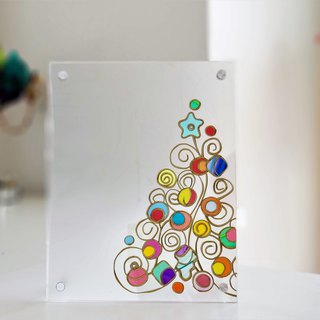 "Xmas Photo Frame ""Elven Forest Christmas"""