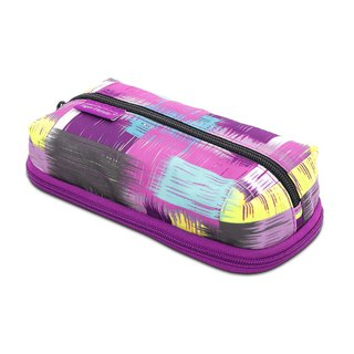Tiger Family MAX Simple and Stylish Pencil Box - Grape Purple