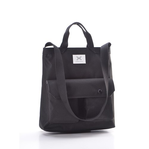 LaPoche Secrete: Wen Qing Gift _ Waterproof dual-use canvas bag _ can shoulder back