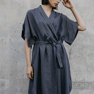 Linen Dress Motumo – 18S3