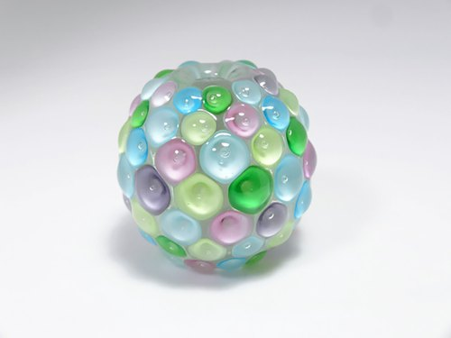 Dot ball spotted beads ball beads