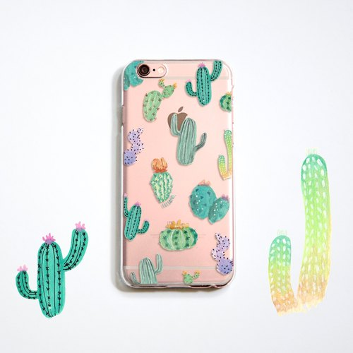 The Cactus pattern phone case, for iPhone, Samsung