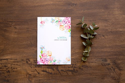 ☆ ° Rococo Strawberries WELKIN Hand-held ° ☆ Self-contained date section calendar calendar portable notebook _ Chunhua
