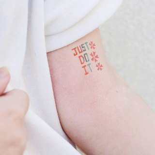 TU tattoo stickers - Just do it / tattoo / waterproof tattoo / Original /tattoo sticker